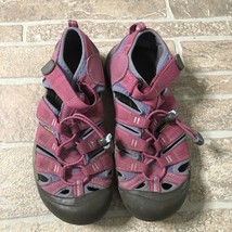 Keen Sandals Newport Waterproof Sport Moc Shoes Trail Hiking Women's 5 Pink - $17.27