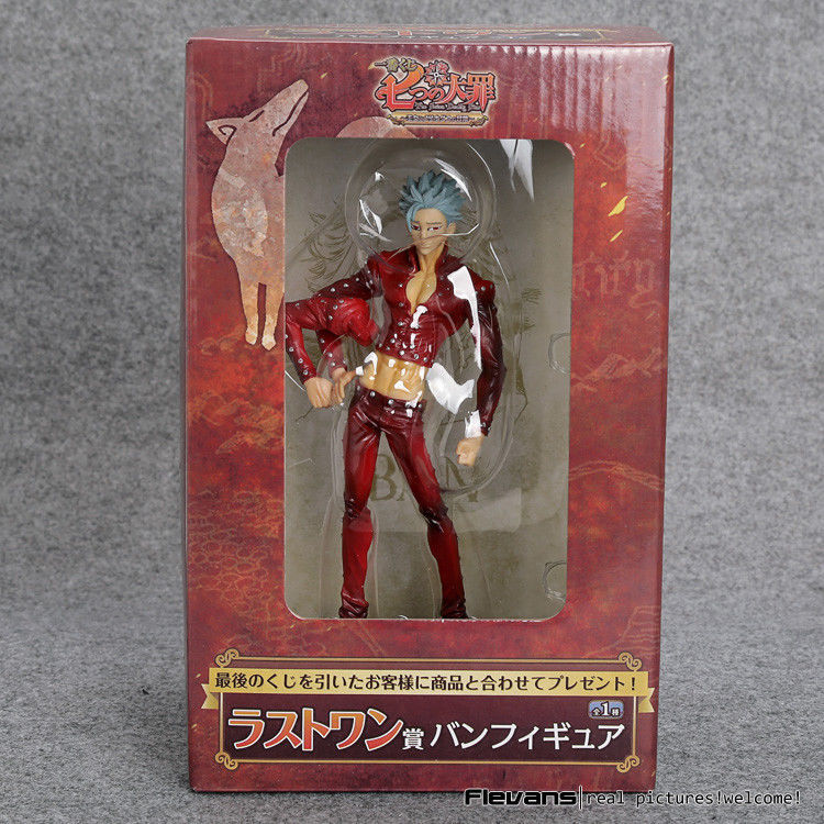 The Seven Deadly Sins Ban Action Figure Fox's Sin Of Greed PVC Collectible Model