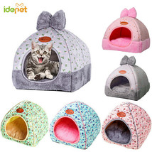 Bed & Sofa Warming Dog House Soft Dog Nest Cama Para Cachorro Luxo Pet Dog - $18.32+