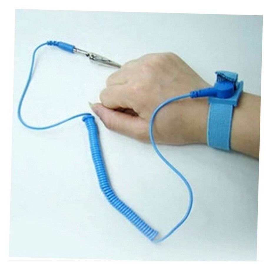 Anti Static ESD Wrist Strap Discharge Band Grounding Prevent Static Shock AH4