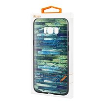 Reiko Samsung Galaxy S8 Edge Embossed Wood Pattern Design TPU Case with ... - $21.39