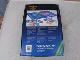 Vintage 1986 Supremacy Game of the Superpowers Global Domination Complete image 2