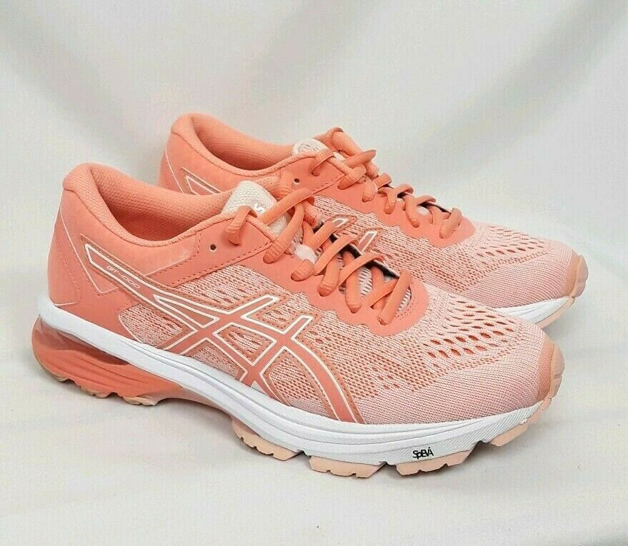 ASICS GT 1000 Womens SIZE 7.5 Vibrant Peach Running Shoes Sneakers T7A9N