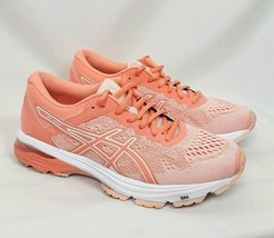 ASICS GT 1000 Womens SIZE 7.5 Vibrant Peach Running Shoes Sneakers T7A9N - $34.63