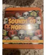 Emoji Sounds Of A Horror Music Cd With Coloring Book - $5.34