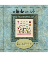A Little Stitch Kit K95 cross stitch kit Lizzie... - $12.60