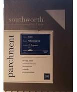 """Southworth  Textures Parchment Paper  8.5 x 11"""" Blue 100 Sheets P964CK (... - $20.56"""
