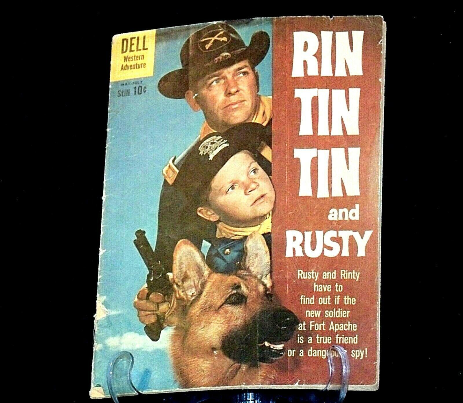 Rin Tin Tin & Rusty Comic Book AB 81