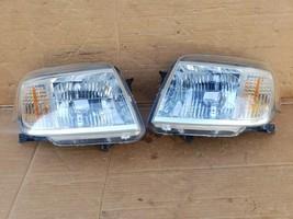 08-11 Mercury Mariner Headlight Lamp Matching Set Pair L&R - POLISHED image 1