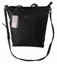 Bench Hayne Shopper BLXA0806 IN Finta Pelle Nera Riflettente Borsa Shopping image 4
