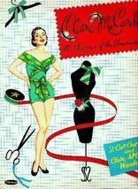 VINTAGE UNCUT 1956 CLAIRE MCCARDELL PAPER DOLLS~#1 TOP REPRODUCTION~FABU... - $18.99