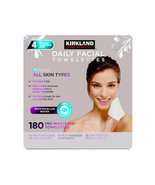 Kirkland Signature Micellar Daily Facial Cleansing Towelettes - 180-count - $20.99