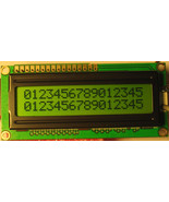 HD44780 16x2 Yellow STN LCD with Backlight - $7.49