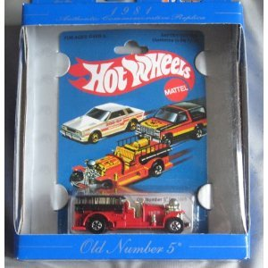 Hot Wheels 30th Anniversary Commerative Replica 1981 Old Num