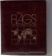 1980 FLAGS of The UNITED NATIONS, Their Origins & Meanings F - $23.95