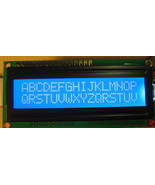 HD44780 16x2 Blue LCD with LED Backlight - $7.49
