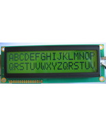 16x2 Large Font Yellow HD44780 STN LCD w/LED Backlight - $13.28
