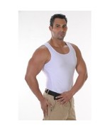 2 pack Mens Compression Body shaper Vest Underwear Shapewear  - $35.00