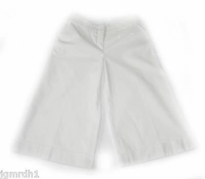 New EMILIO PUCCI Crop Pants Bermuda Gaucho Culottes 4 Allison Daley