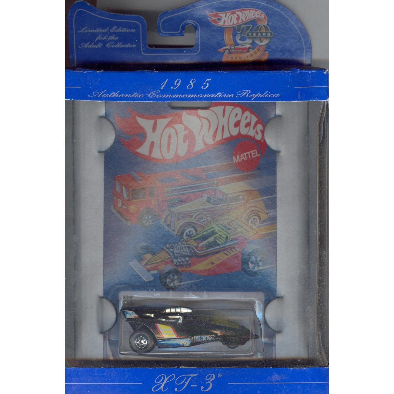 Hot Wheels 30 Years AUTHENTIC COMMEMORATIVE 1985
