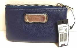 (New) Marc by Marc Jacobs New Q Slim Leather Key Pouch M0009420 Dark Blue - $59.39