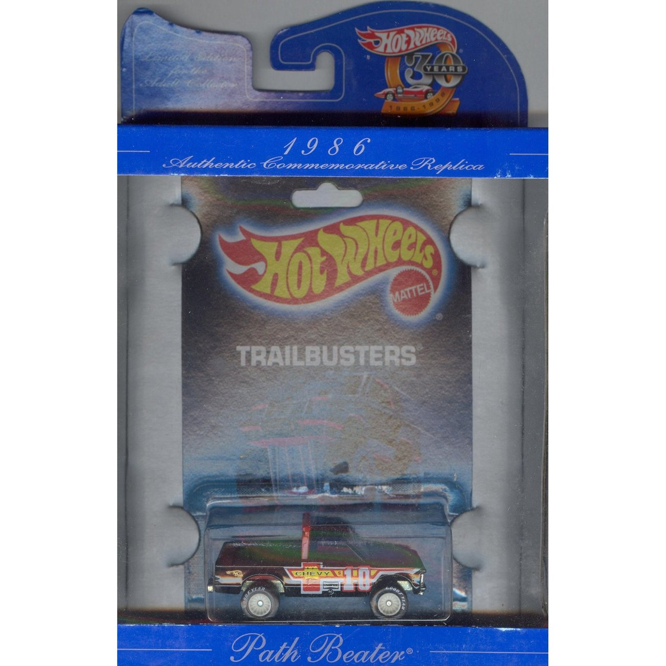 Hot Wheels 30 years AUTHENTIC COMMEMORATIVE  1986