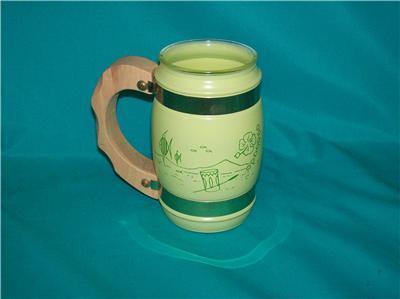Vintage Pastel Siesta Ware Bar Ware Hawaiian Tiki Mug