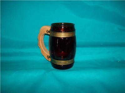 "Vintage Design Free Siesta Ware Barrel Mug 5 1/4"" Tall"