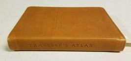 Emory University Traveler's Atlas 2008 World Geographic Leather Book  - $15.99