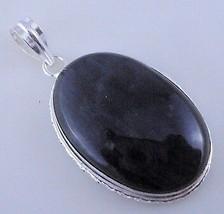 21 Gram Stunning Labradorite Stone Silver Overlay Handmade Pendant Jewelry - $0.99
