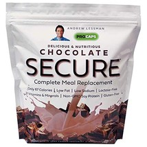Andrew Lessman Secure Soy Complete Meal Replacement - Chocolate 100 Servings Bag