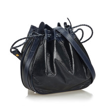 Pre-Loved Gucci Black Patent Leather Bucket Bag Italy - $429.17