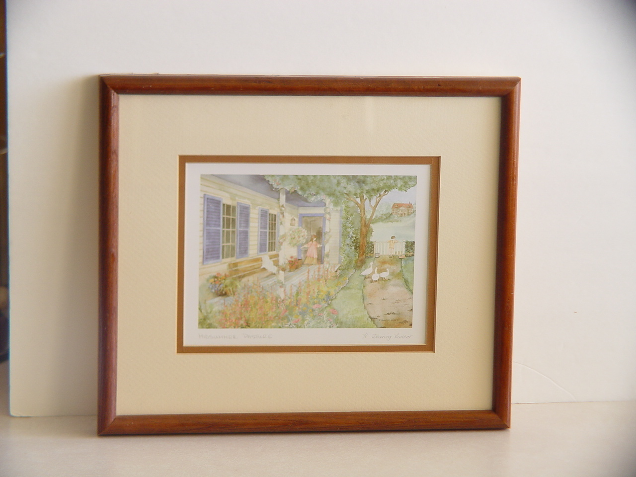 Signed and  Framed Helen Downing-Hunter
