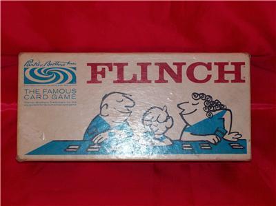 Vintage Parker Brothers 1963 Flinch Game