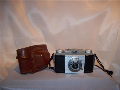 Vintage Kodak Pony 135 MM Camera With Leather Case