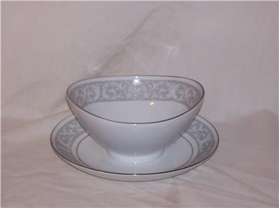 WHITNEY by IMPERIAL Gravy Boat Has Attached Underplate