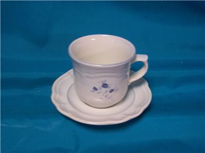 Pfaltzgraff Poetry Glossy Cup & Saucer Older Castle
