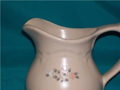 "PFALTZGRAFF REMEMBRANCE Creamer 4"" TALL"
