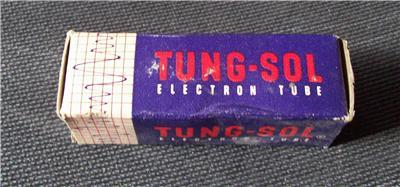 VINTAGE TUNG-SOL 6BC5 TUBE TESTED