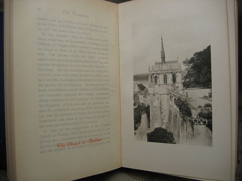 Old Touraine Volume II by Theodore Andrea Cook 1905