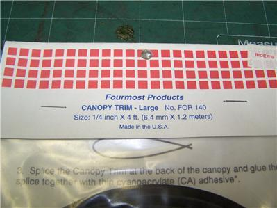 FOURMOST WINDOW FLANGE AND CANOPY TRIM PACKAGES