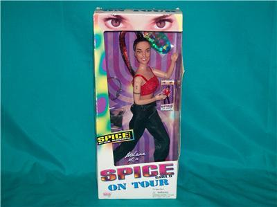 Melanie C Spice Girls On Tour Doll NIB 1998