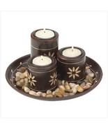 Mahogany Tealight Set - $26.00