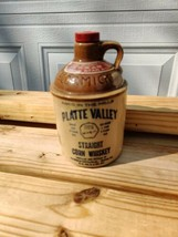 Vintage McCormick Platte Valley Straight Corn Whiskey Jug Is 1 Pint Ston... - $34.00
