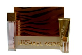 Michael Kors Glam Jasmine 3 Piece Gift Set Eau De Parfum Spray 100 Ml Nib - $108.41