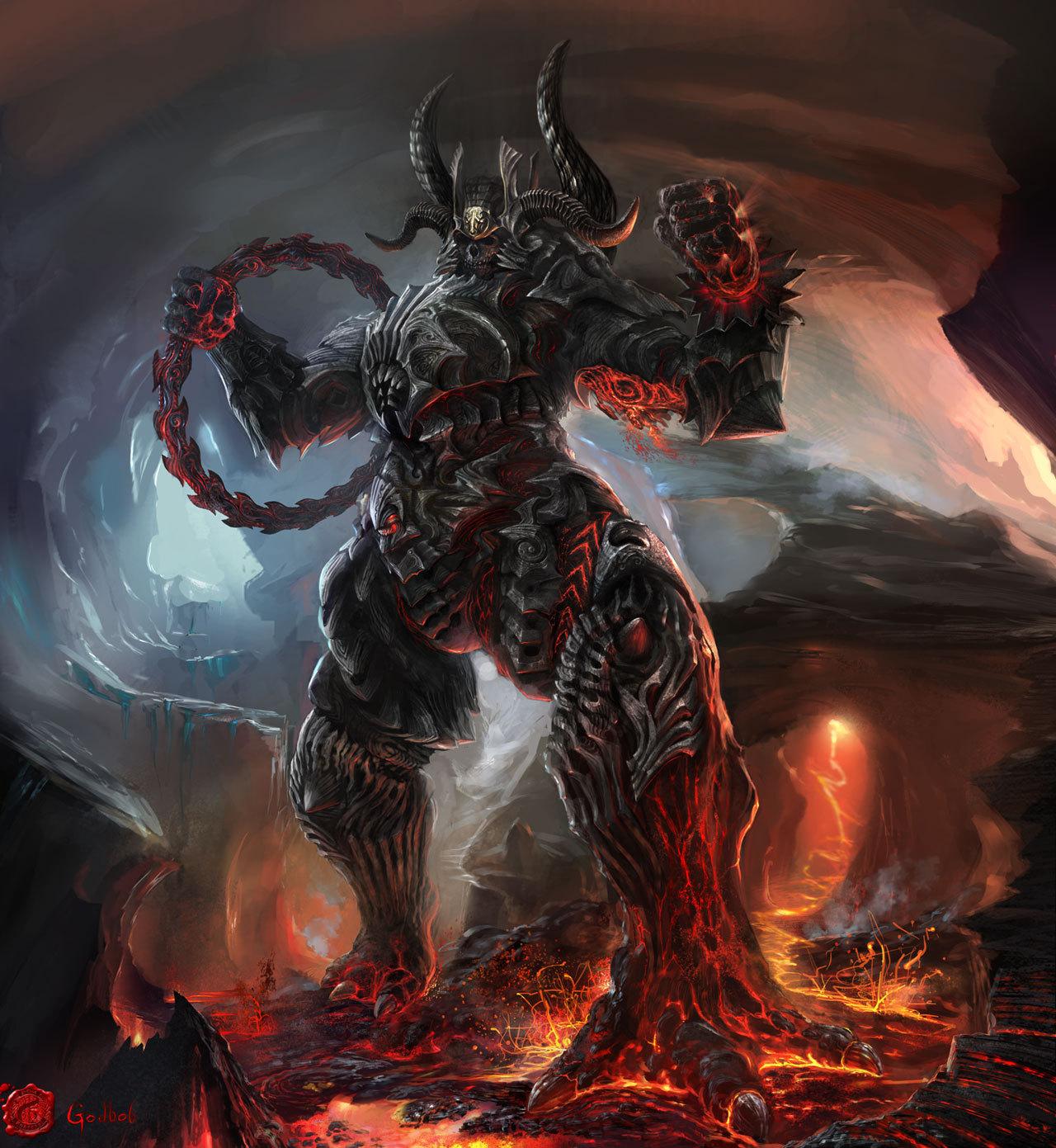 Haunted : Male Sorath Demon – Sun Demon - and 10 similar items