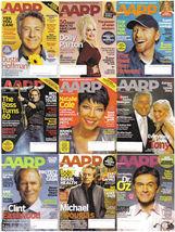 9)AARP-2007-2009-20010-CELEBRITY ARTICLES/ MONEY/HEALTH - $4.99