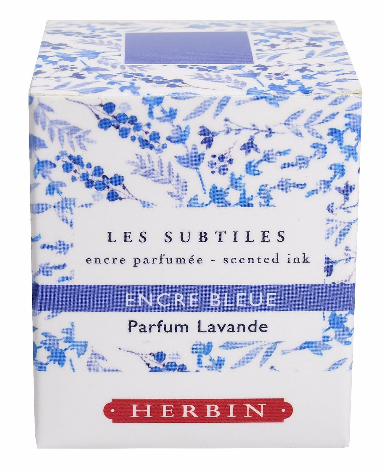 Herbin Scented Ink - 30ml Bottled - Blue/Lavender