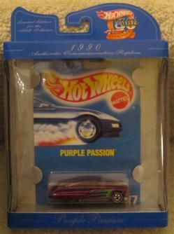 Hot Wheels 30 years AUTHENTIC COMMEMORATIVE  1990