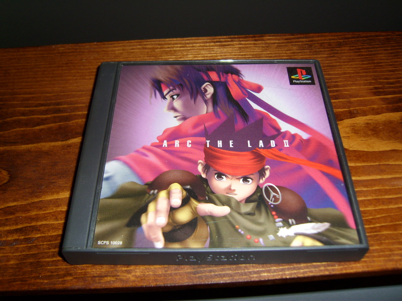 Arc the Lad II Playstation game for Japan ONLY